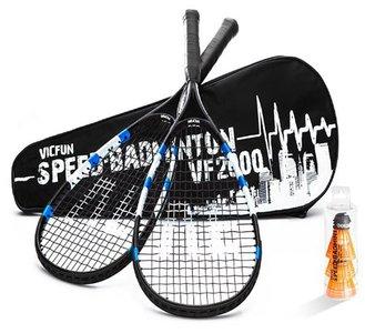 Victor Vicfun Speed Badminton Set 2000 Black/Blue