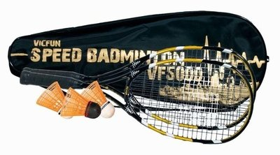 Victor Vicfun Speed Badminton Set 5000 Black/Gold