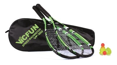 Victor Vicfun Speed Badminton Set 100 Black/Green