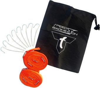 Talbot Torro Speedbadminton Court Lines Orange