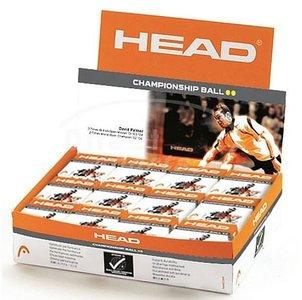 Head Championship Ball dubbel geel