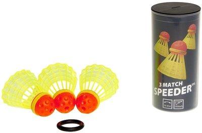 Speedminton Speeder Tube MATCH 3-pack