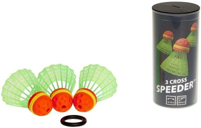 Speedminton Speeder Tube CROSS 3-pack