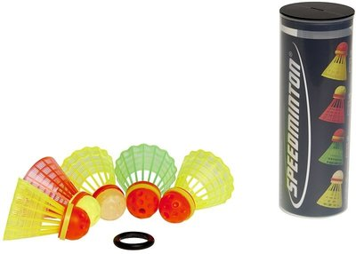 Speedminton Speeder Tube MIX 5-pack