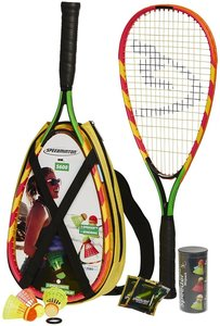 Speedminton Set S600 Green/Yellow