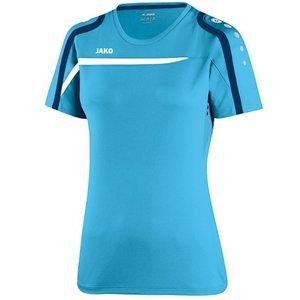 LUSV T-Shirt Dames Jako Blauw