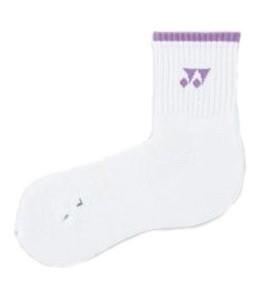 Yonex Socks 9052 White/Lila