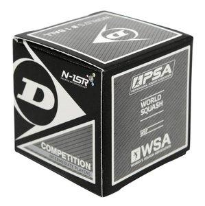 Dunlop Competition Squashbal enkel geel