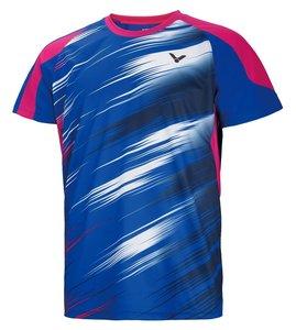 Victor T-Shirt Men 6502 Blue/Pink