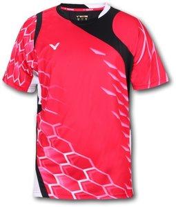 Victor T-Shirt Men 6285 Red/Black