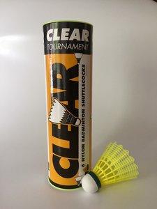 Clear Tournament Nylon Yellow Slow