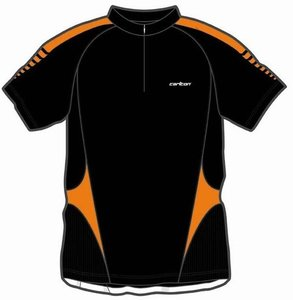 Carlton Polo Men Tournament Black/Orange