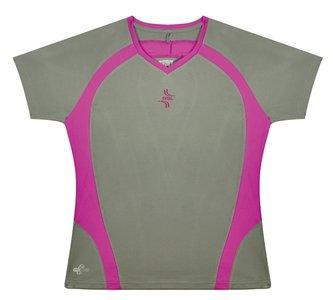 RSL T-Shirt Lady 101007 Grey/Pink