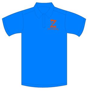 B.V. Zeeburg Polo Junior Aqua Blue
