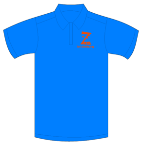 B.V. Zeeburg Polo Dames Aqua Blue
