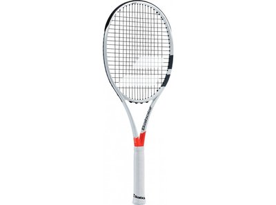 Babolat Pure Strike 100 White/Red.