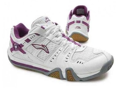 Li-Ning AYZF008-1 White/Purple