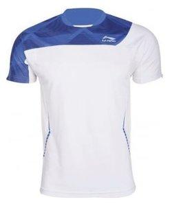 Li-Ning T-Shirt Men White/Blue (ATSG019-1)
