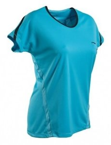 Li-Ning T-Shirt Lady Light Blue (ATSE176-2)