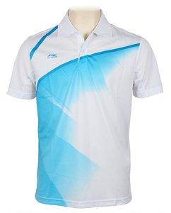 Li-Ning Polo Men White/Blue (AAYH033-12)