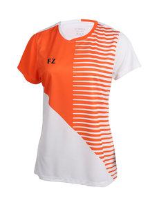 FZ Forza T-Shirt Lady Hoxie National NL White/Orange