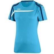 LUSV-T-Shirt-Dames-Jako-Blauw